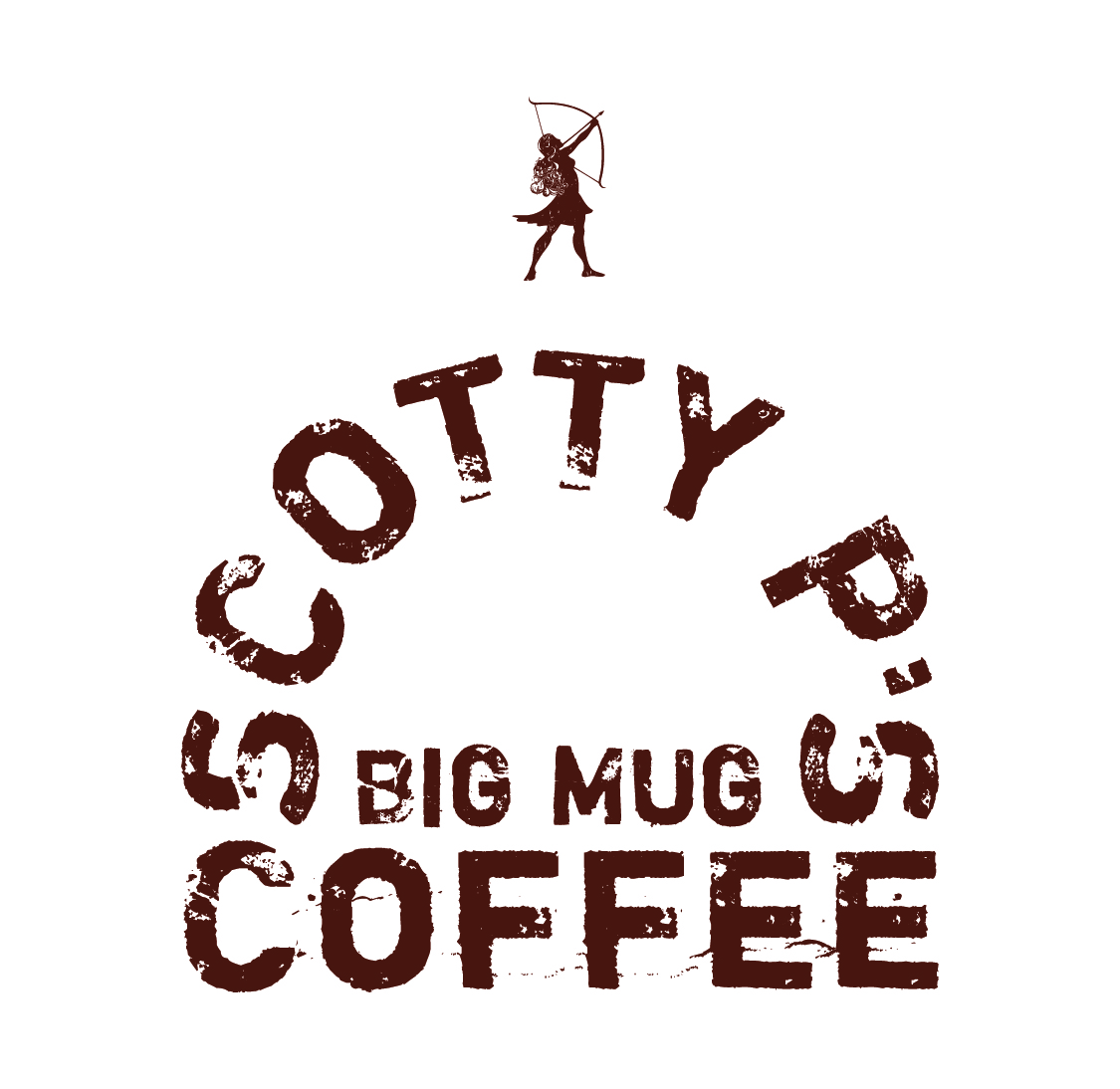SCOTTY P'S BIG MUG COFFEE LOGO